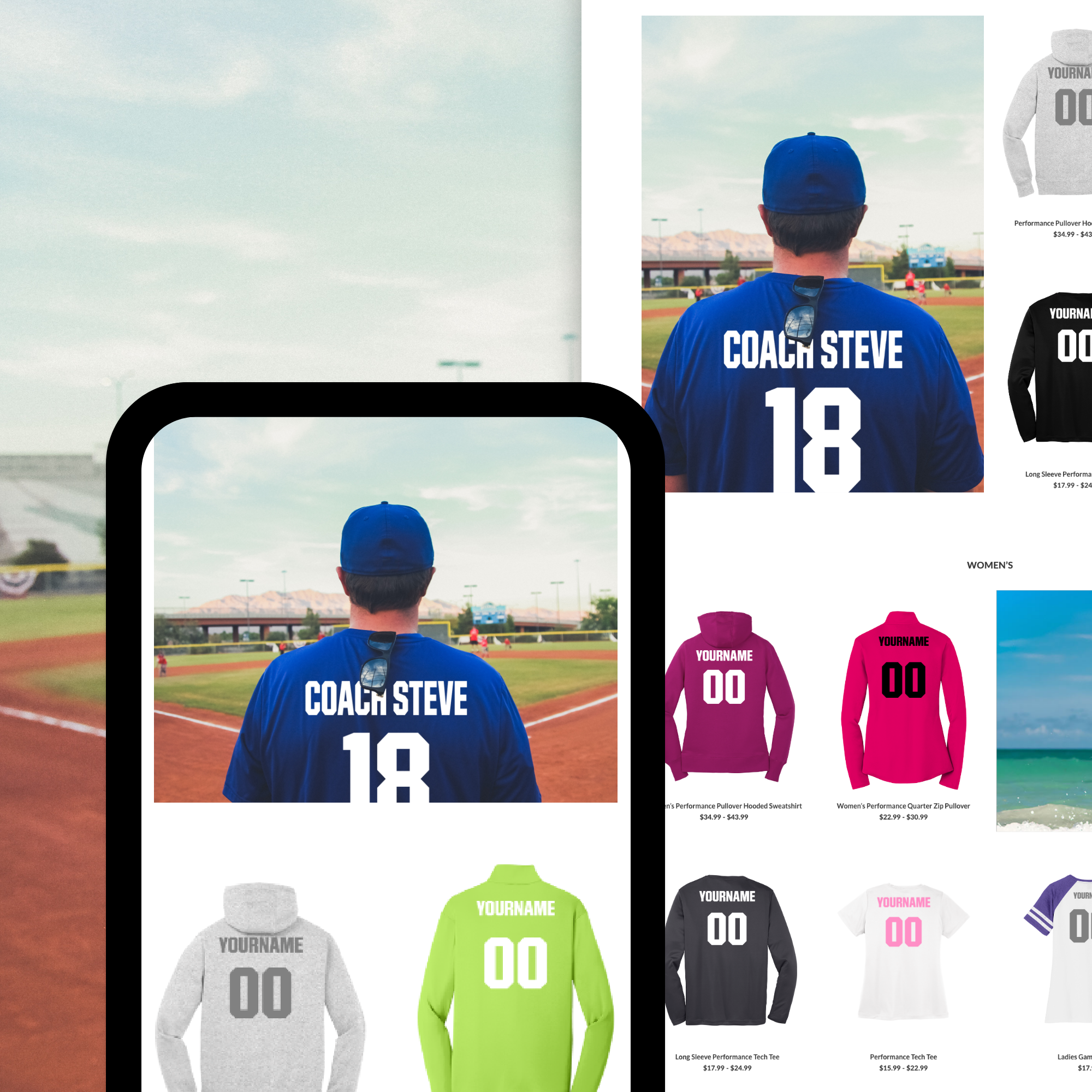 DICK'S TSHQ Fan Wear Redesign